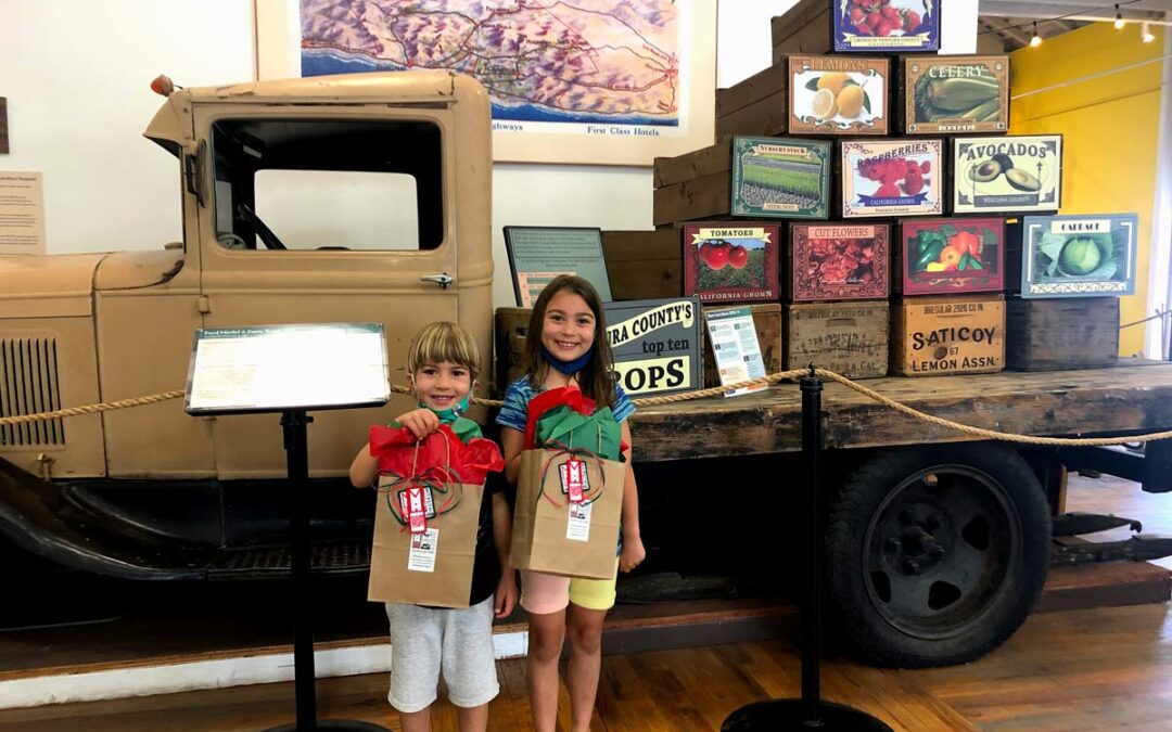 Siblings Win Matching Prizes in Museum Recycling Contest